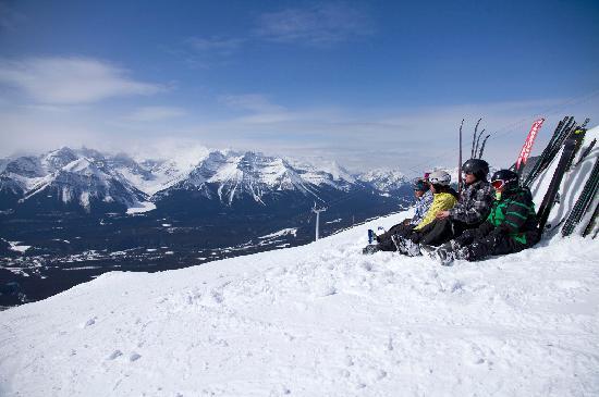 Banff, Kanada: Skiing at Lake Louise