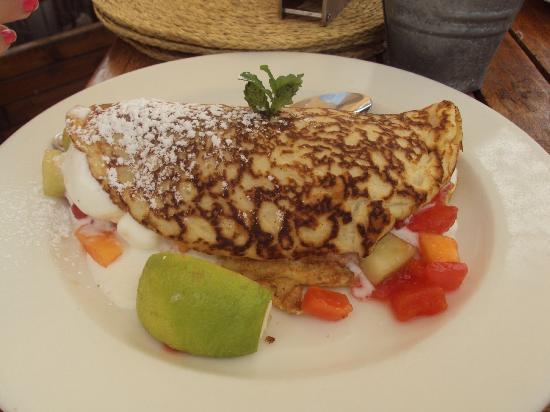 Graskop, South Africa: increíbles pancakes
