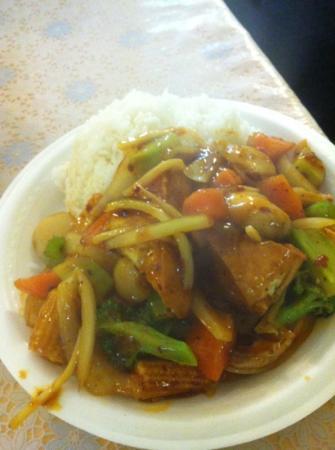 Three Sisters Bbq Chinese Restaurant : chili tofu