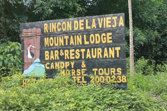 Rincon de la Vieja Lodge : Entrance.