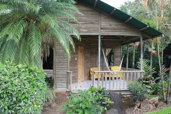 Rincon de la Vieja Lodge: Front of the Cabin.