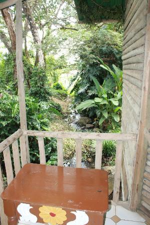 Rincon de la Vieja Lodge: Back Porch.