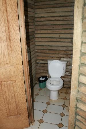 Rincon de la Vieja Lodge: Toilet.