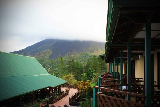 Arenal Observatory Lodge & Spa: View from balcony