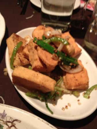 Ocean Palace: spicy salt and chilli pepper tofu