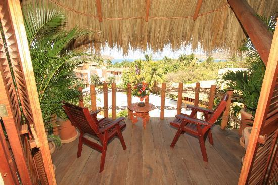 La Villa : Balcony from king room