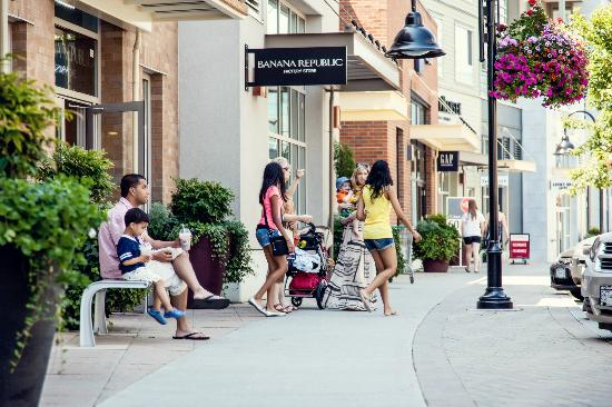 The Shops at Morgan Crossing: Lots of great outlet shopping to enjoy