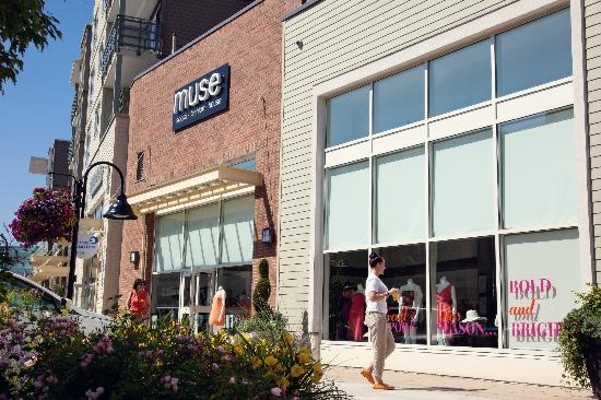 The Shops at Morgan Crossing also offers a great selection of unique boutiques