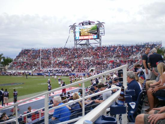 FAU Stadium: Student section from Club Level
