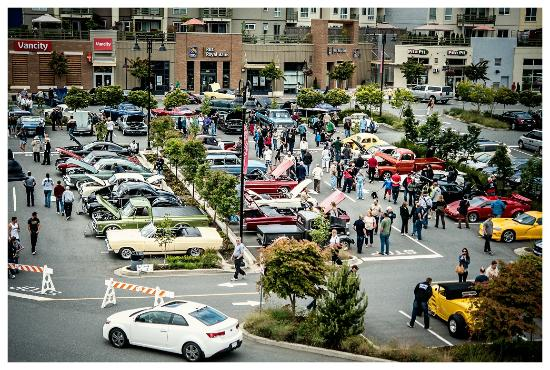 The Shops at Morgan Crossing hosts many event throughout the year, such as the Annual Car Show.