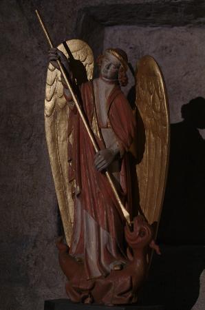 Chapelle St. Michel d'Aiguilhe: Saint-Michel terrassant le dragon