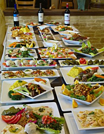 Some Of Our Best Dishes Picture Of Phoenician Garden