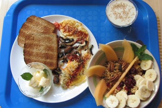 Blue Bamboo Guesthouse: Breakfast