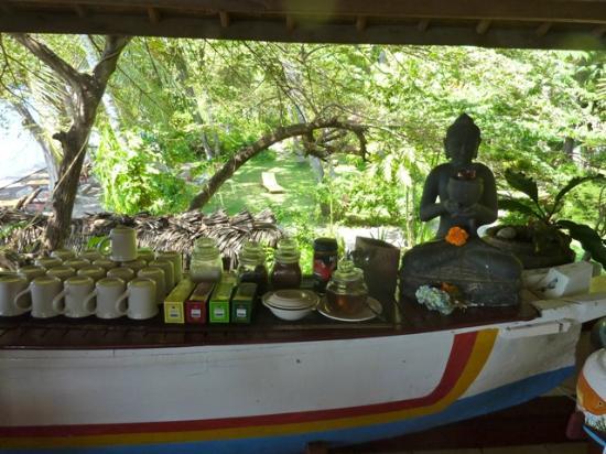 Bali Mandala Resort: Tee- und Kaffeebar