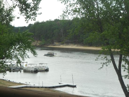 Cedar Lodge & Settlement: view of beach from unit six