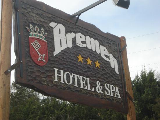 Bremen Hotel & SPA: Cartel