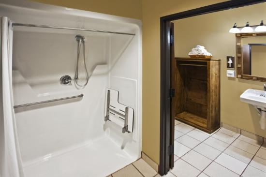 La Hacienda Inn Alamodome/Riverwalk: Access Bath A