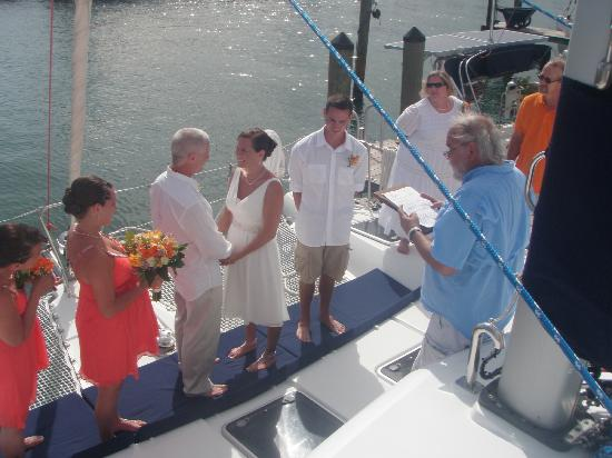 Restless Native Charters - Day Sails : Our Vows