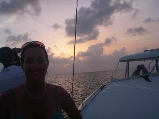 Restless Native Charters - Day Sails : Sun Set in Deck