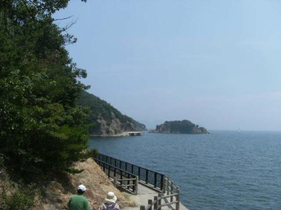 Sensui Island: 海岸遊歩道