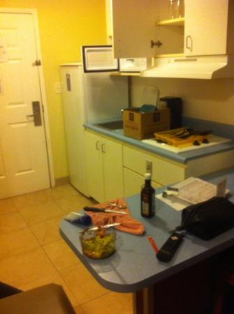 Suburban Extended Stay Hilton Head: dated and no dish washer
