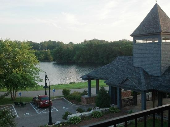 Lake Opechee Inn and Spa: View from balcomy