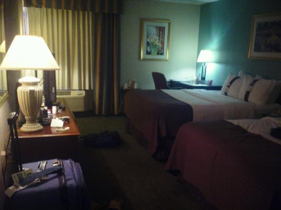 Ramada Plaza Rochester Airport : room with two beds