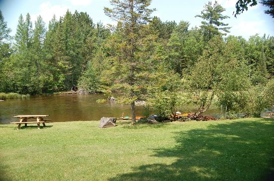 Gates Au Sable Lodge : The Au Sable river