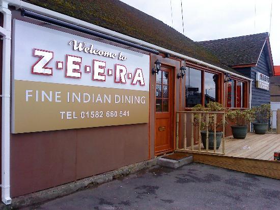 Dunstable Indian Restaurants Zeera
