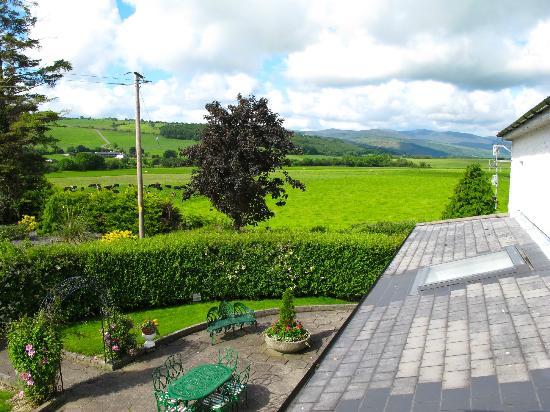 Glasha Farmhouse: View from our bathroom