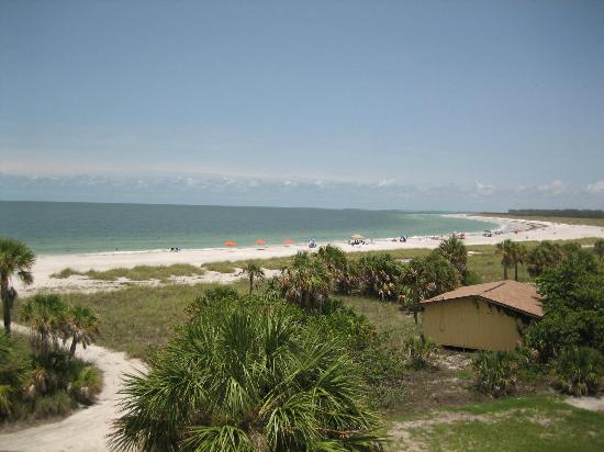Fort De Soto Park: view from the top of the fort
