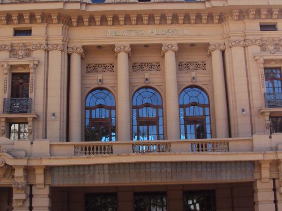 Pedro II  Theater: Teatro Pedro II - detalhes