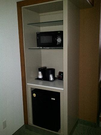 SpringHill Suites Columbia : the kitchen in the suite