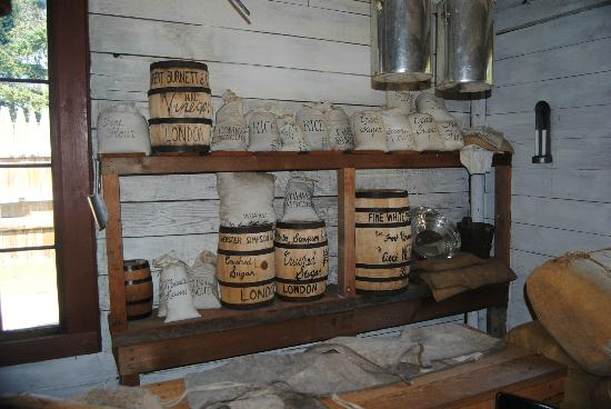 Fort Nisqually Living History Museum: stores