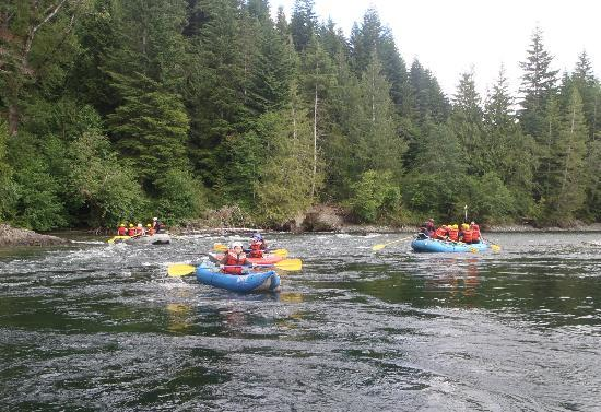 Campbell River, Canada: great day on the river