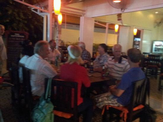 The Dutchman Hua Hin: Delicious dinner with great ambiance