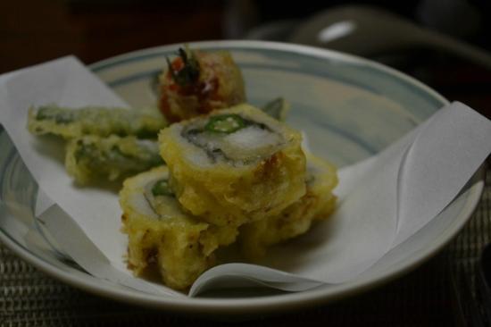 Taichonomori : プチトマトの天ぷら