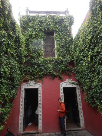 Museo Casa de la Tia Aura: Entrance to Casa de Tia Aura
