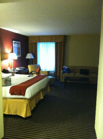 Holiday Inn Express Charleston: room