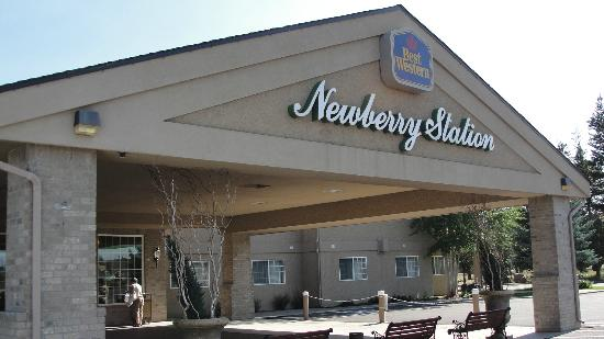 Best Western Newberry Station : Nice entrance