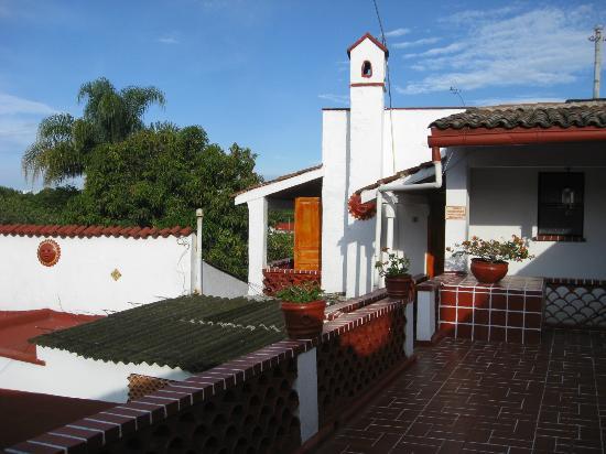 Hotel Cadiz: common area upstairs