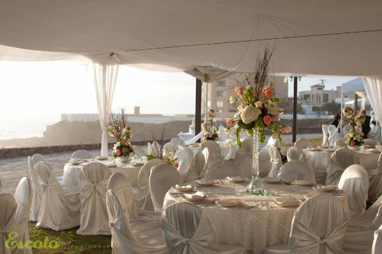 Hotel Boutique Castillos del Mar: wedding event space