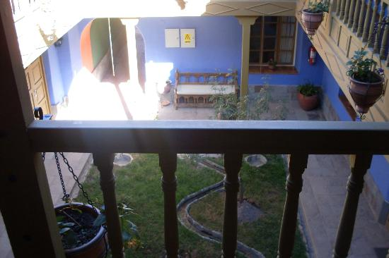Tambo del Arriero Hotel Boutique: Balcón y patio interior