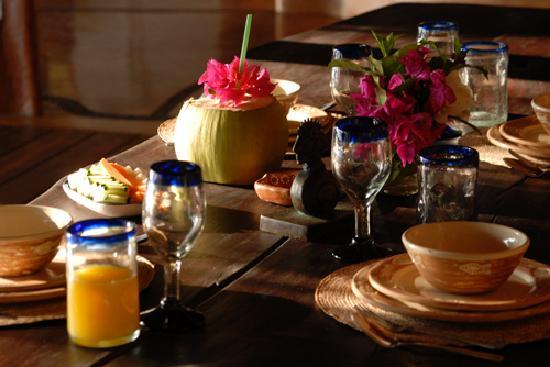 Casa Viva Troncones : Dining