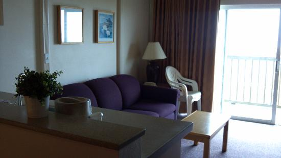 BEST WESTERN Lighthouse Suites Inn: Large Sitting Area