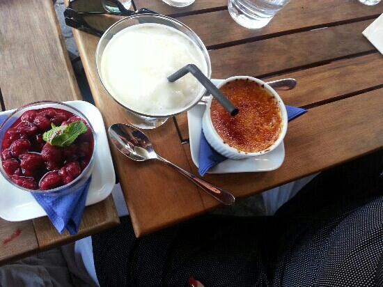 La Roche Vin & Tapas : Dessert fr?n La Roche meny.