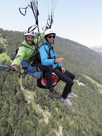 Zip Lining Picture Of Interlaken Bernese Oberland