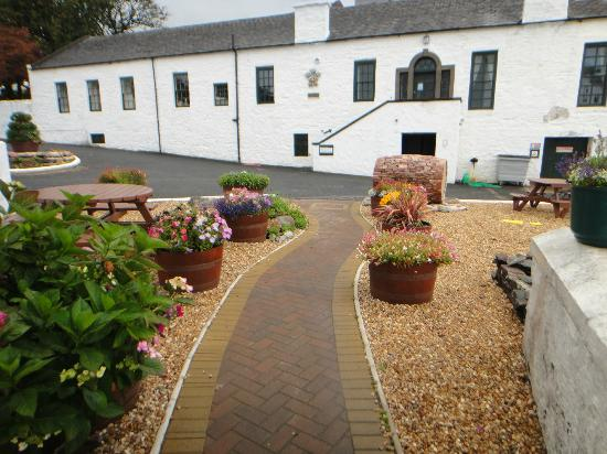 Laphroaig Distillery: From the reception