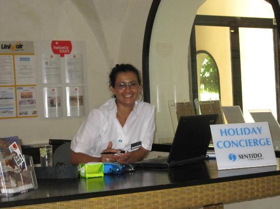 SENTIDO Djerba Beach: Une personne très disponible, et efficace
