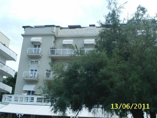 Hotel Lungomare: Facciata